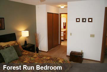 Forest Run Bedroom
