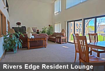 Rivers Edge Resident Lounge