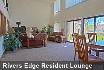 Rivers Edge Resident Lounge